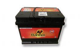 BANNER Starting Bull autó akkumulátor 12V 62Ah 480A, J+