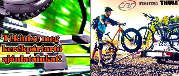 Tavasz, kerékpár, kerékpártartó, biciklitartó, vonóhorogra, tetőcsomagtartóra, hátsó ajtóra / csomagtartóajtóra