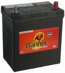 BANNER Starting Bull autó akkumulátor 12V 35Ah 260A, B+