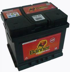 BANNER Starting Bull autó akkumulátor 12V 44Ah 360A, J+