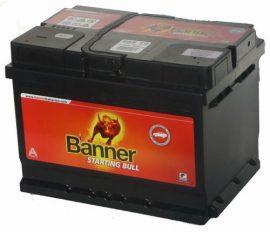 BANNER Starting Bull autó akkumulátor 12V 55Ah 450A, J+