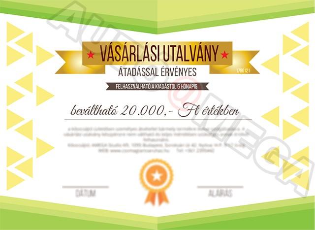 Ajándék Utalvány - 20000 Ft - Autótartozékok  tetőcsomagtartó ... 1e1ca53396