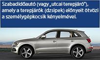 SUV Crossover Terepjáró